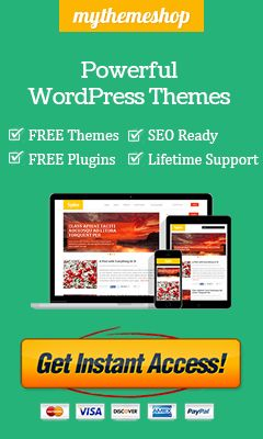 Premium-WordPress-Plugins MyThemeShop Coupon Code 2015: 65% Off |  ✿ ✿ ☺ Buy our Blogging theme for $43, and get all 78 premium themes for free. http://mythemesstore.com/mythemesstore/
