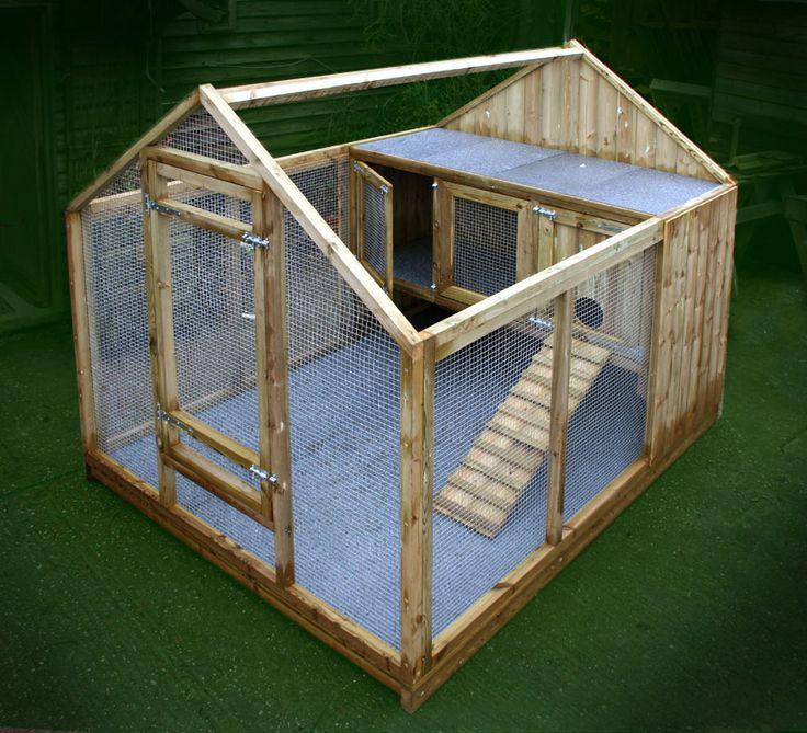 Twigss Rabbit Lodge - Rh-twi-01 - Rabbit Houses - by Granddad Rob