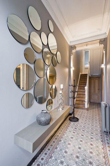 17 mejores ideas sobre decoración de escalera de entrada en ...