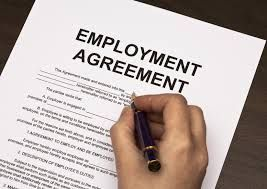 Employee Agreement The employee agreement is the employment relationship between an employer and employee that specifies the rights and obligations of each party to the agreement. It should be signed by the two parities before the employee starts to work. Generally, employee agreements in the hospitality industry are established verbally, or with an offer letter.