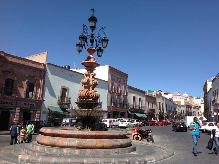 Fuente de Los Faroles. Ciudad de Zacatecas, México.