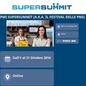 PMI SuperSummit, #Festival delle #PMI: un mese di #webinar gratuiti
