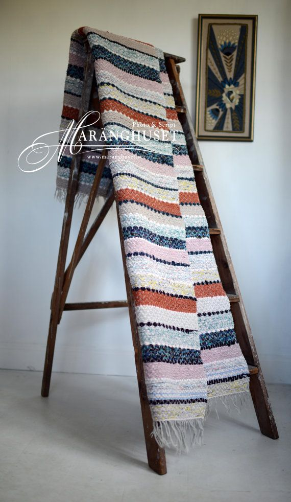 Jannica 197 cm x 66 cm Vintage Rag Rug by Maranghouse