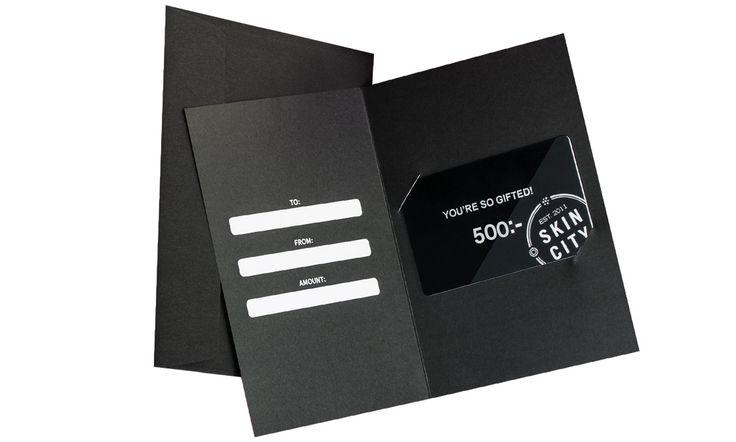 Presentkort på SkinCity!
