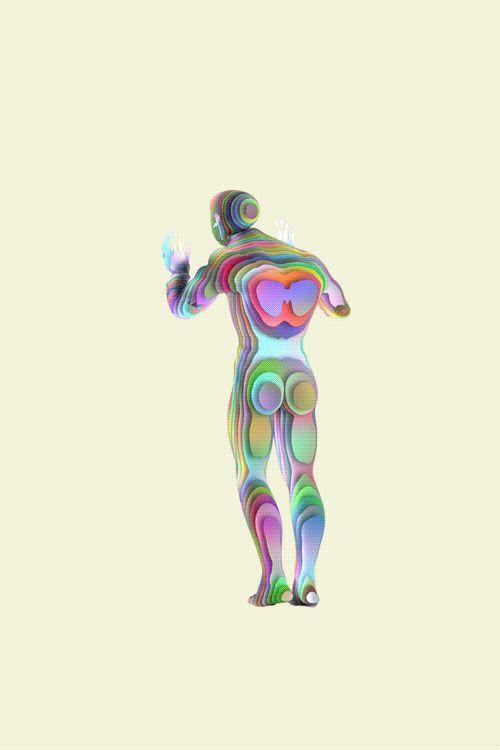 Visible Human - Marcin Zeglinski