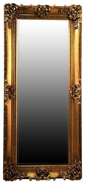 Gold floor mirror. Gold floor standing mirror. Anna & Beau. Select from an elegant collection of modern and french style mirrors.