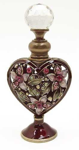 Pretty Heart Perfume Bottle: