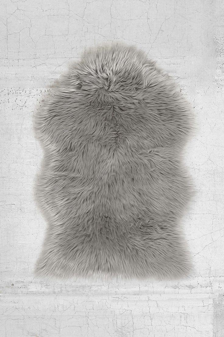 Faux Fur Sheepskin Rug - Urban Outfitters