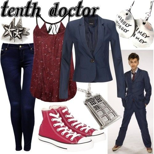 Character: Tenth Doctor  Fandom: Doctor Who  Id change the top
