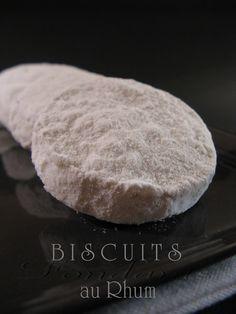 Biscuits Fondants au Rhum.