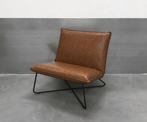 Best Loungechair Fellon Cognac Furniture Accent Chairs Chair 400 x 300