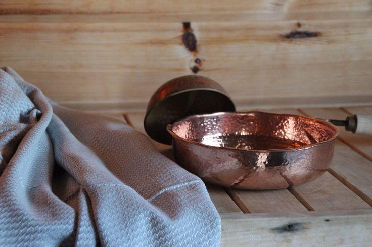 Underbar hamam skål i koppar från Lou & Friends