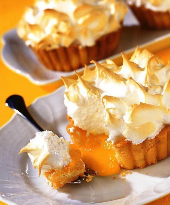 Лимонные тарталетки - безусловный шедевр. фото
