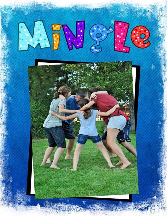 Mingle- a Hilarious Game for Large Groups | Family Reunion Helper