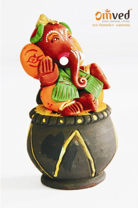 eco friendly ganesh idol Paper mache idols paper mache ganesh idols are another eco-friendly alternative to be opted for, after shaadu idols paper mache idols are prepared by crushing paper.