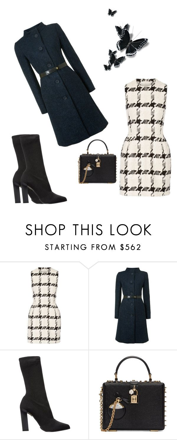 """""""Sunday  Church Outfit"""" by kimberlydalessandro ❤ liked on Polyvore featuring Alexander McQueen, MaxMara, Calvin Klein Collection and Dolce&Gabbana"""