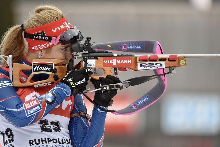 Gabriela Soukalova Photos: IBU Biathlon World Cup: Women's Sprint
