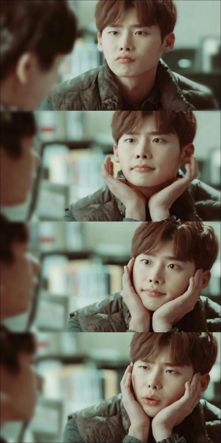 (Pinocchio) Ver o Lee Jung Suk fazendo essa carinha fui demais, ele é muito fofo *-* ~Choi Dal Po~