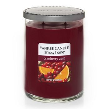 Yankee Candle simply home 19-oz. Cranberry Zest Jar Candle