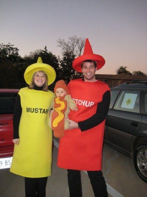 Disfraces caseros de Halloween para toda la familia