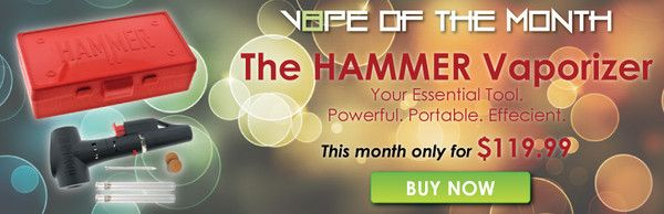 V8PE of the Month: Hammer Vaporizer Review