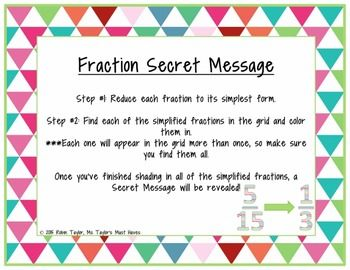 Best 25+ Fractions in simplest form ideas on Pinterest | Simplest ...