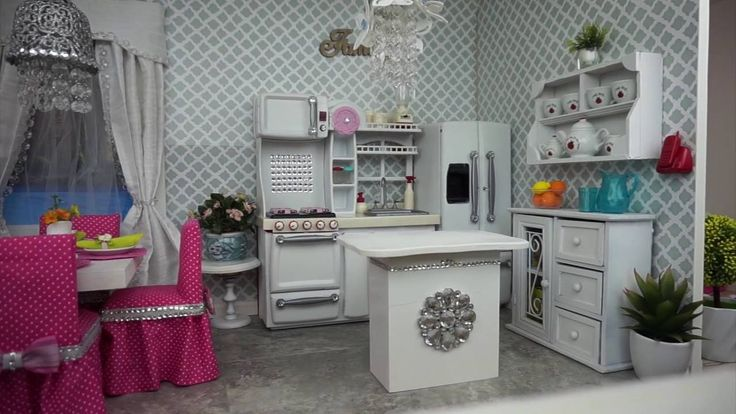 American Girl  Doll  Kitchen and Dining Room Tour