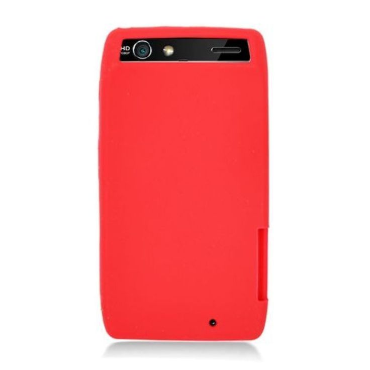 Insten Silicone Skin Gel Rubber Case Cover For Motorola Droid Razr XT912 #2351563