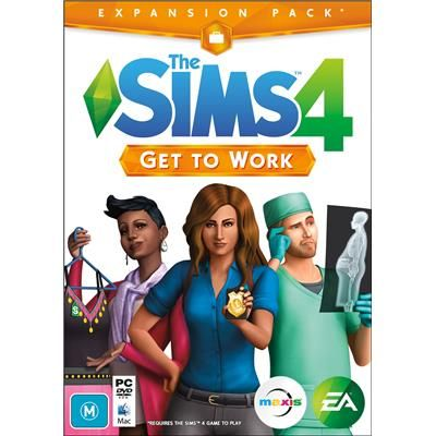 The Sims 4 Get to Work! (Expansion Pack)