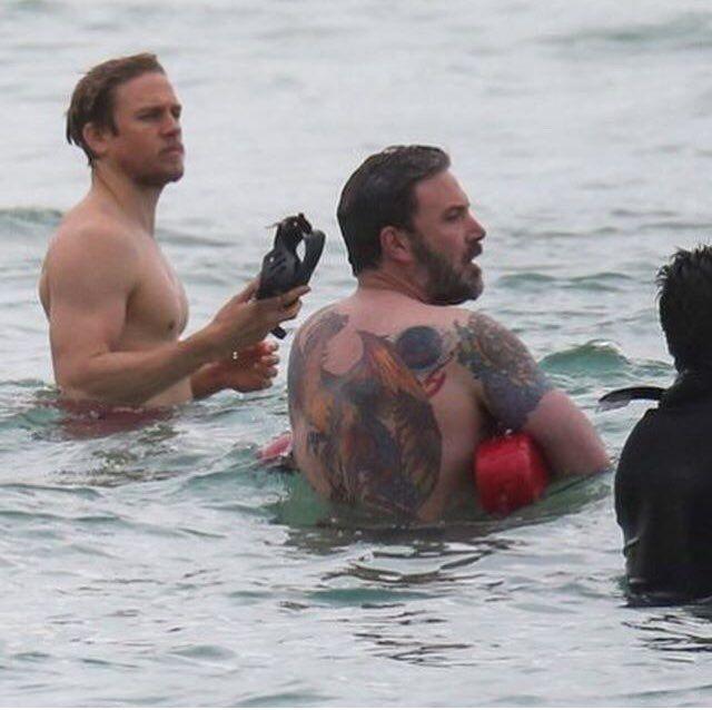 Ben Affleck In Hawaii For His New Netflix Movie Triple Frontier