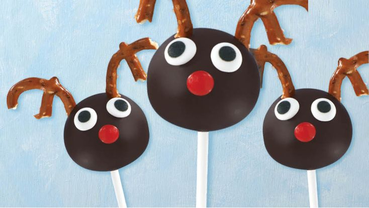 OREO Reindeer Cookie Ball Pops | Giant Food Store