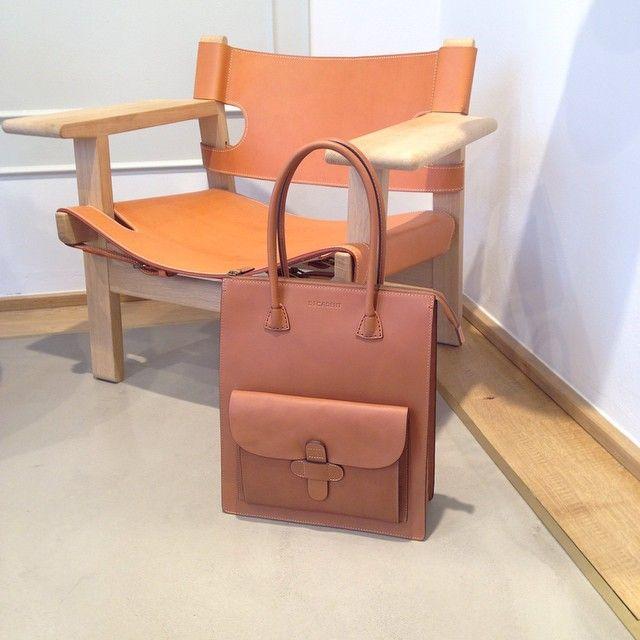 104A working bag in Cognac: http://decadentcopenhagen.com/shop/decadent-104-a-working-200p.html