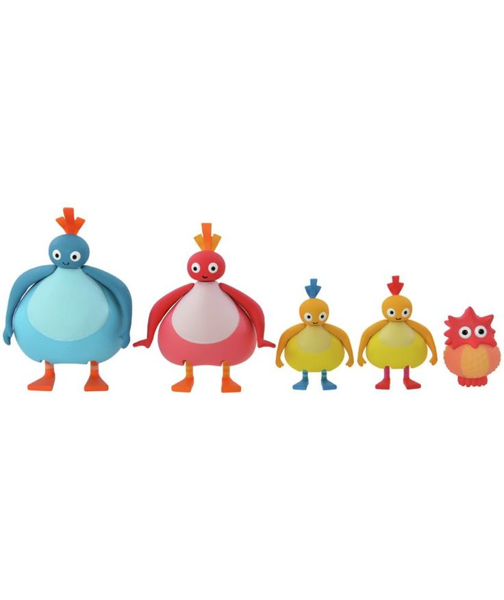 Buy Twirlywoos Family Figurine Set at Argos.co.uk - Your Online Shop for Baby activity toys.