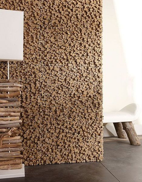 wood pixel wall decor