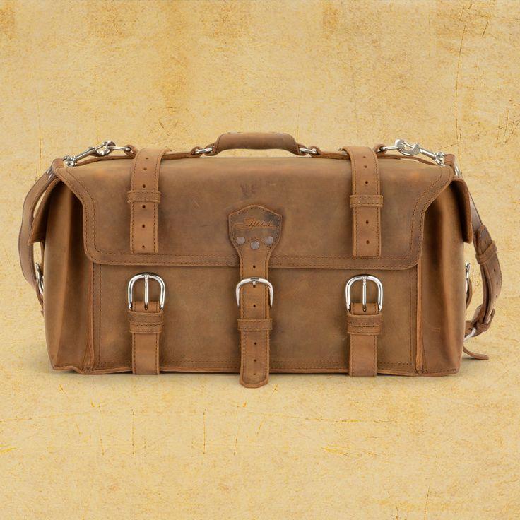 Side Pocket Duffel - Leather Duffel Bag | Saddleback Leather Co. ⭐️ 100 year warranty