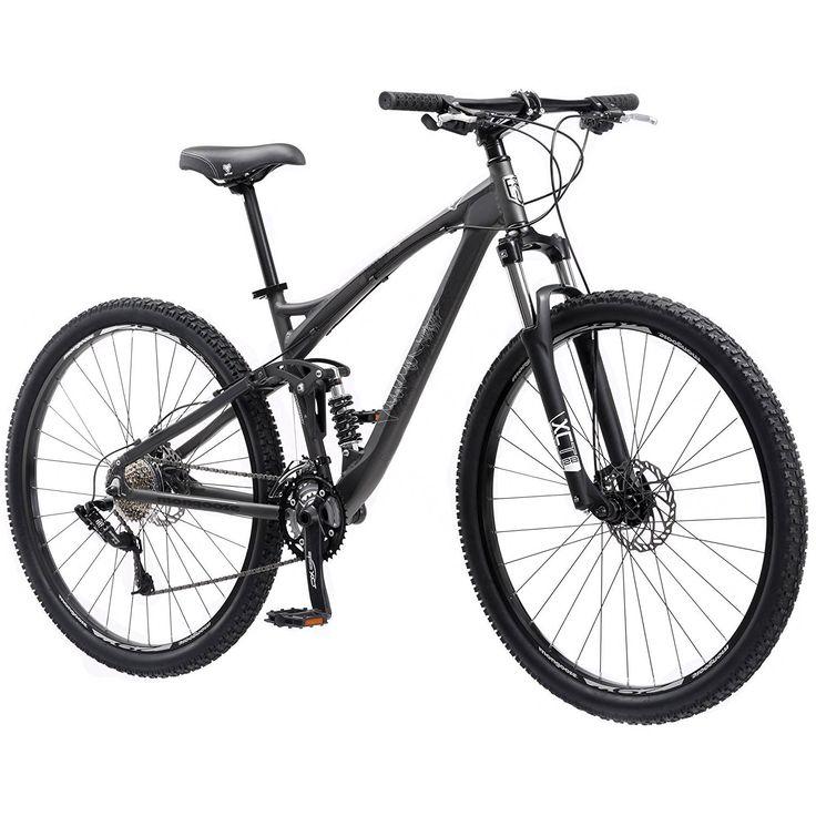 29' Aluminum, Full-Suspension Frame, Men's Mountain Bike, Black >>> Click on the image for additional details.