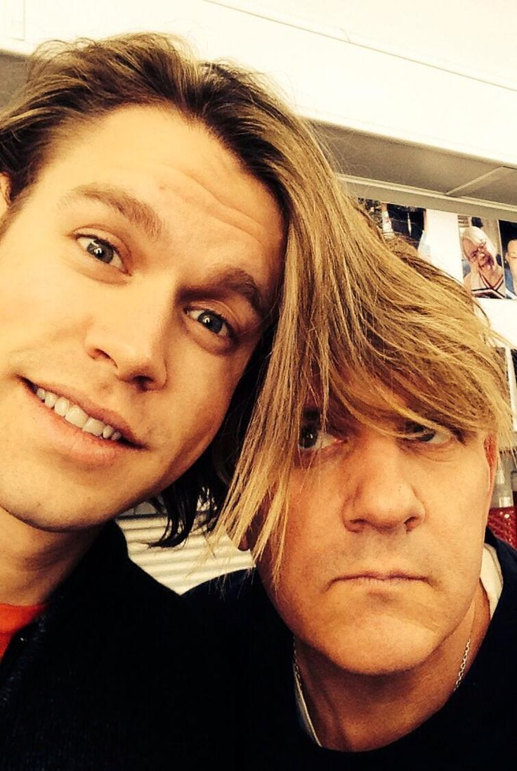 Chord Overstreet and Mike O'Malley