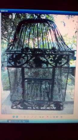 Продам железную клетку для птиц(ы) Киев - изображение 1