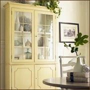 cabinet: Dining Rooms, Paintings Furniture, Kitchens Design, China Cabinets, Cumberland Cabinets, Design Kitchen, Yellow Cabinets, Pale Yellow, Modern Kitchens