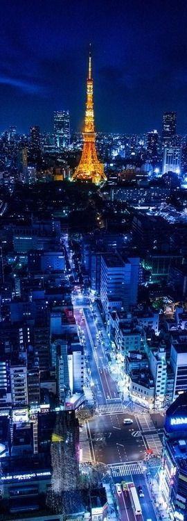 Tokyo Tower at night, Japan... #Night #Travel #Vacation #Tokyo #Tower #City #Japan .. See more... https://www.facebook.com/chris.wysocki1/media_set?set=a.940904789271587.1073741837.100000562257390&type=3