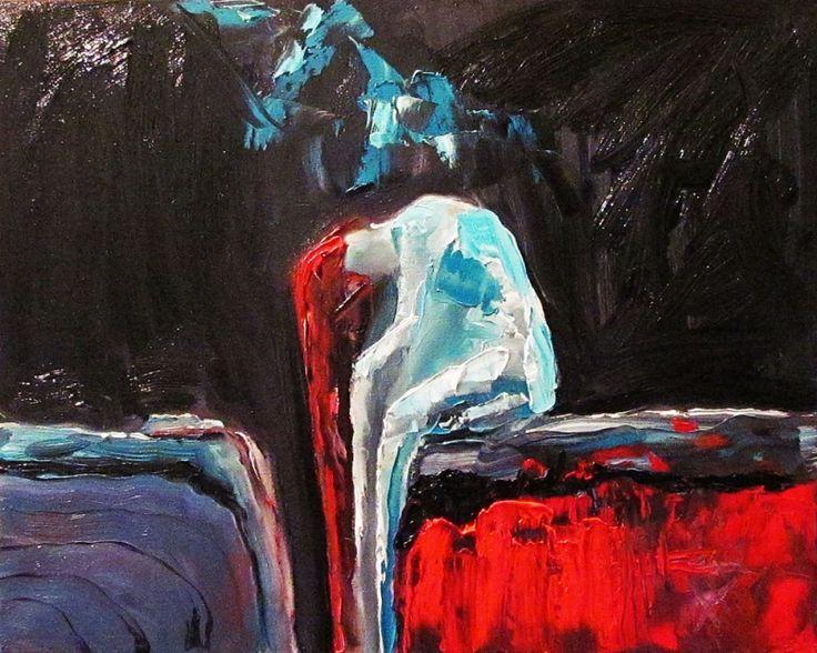 """Жанна Захарченко, Украина (р. 1987). """"Пусто"""", холст, масло.   Другие работы этого автора - в Артхиве."""