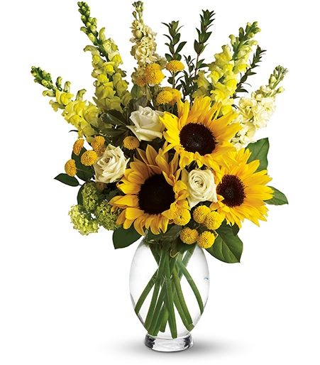 Yellow Funeral Flower Arrangements