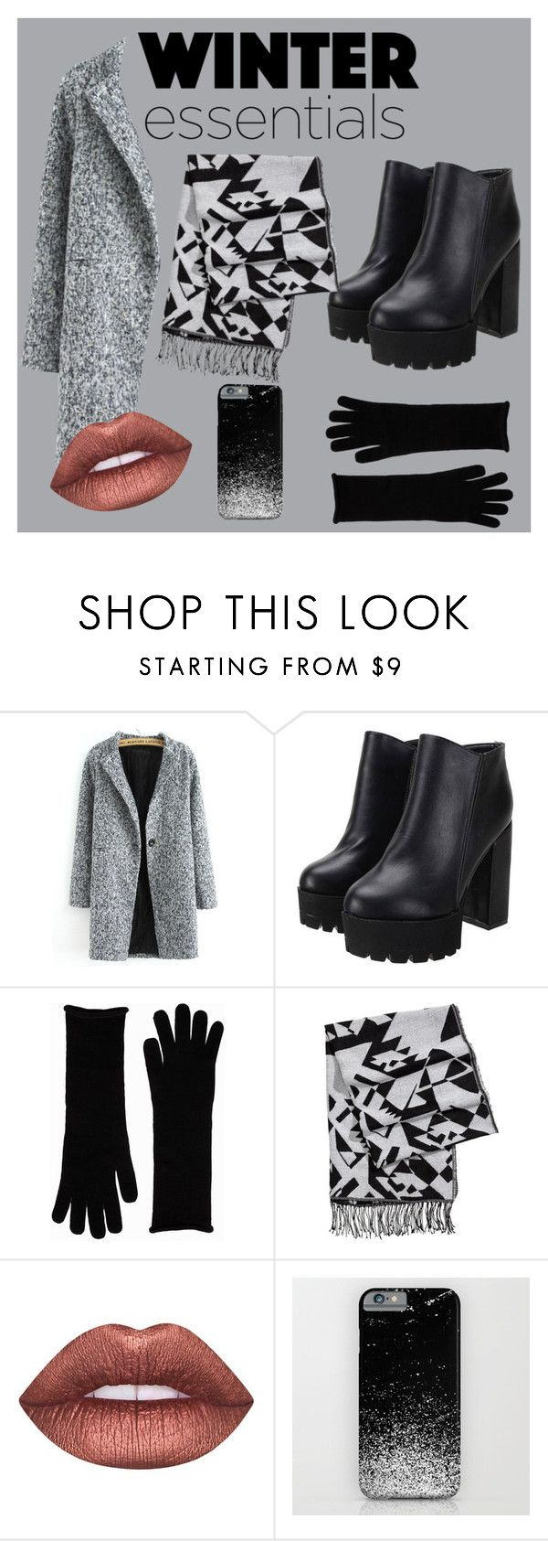 """Winter esentials"" by egle-dambrauskaite on Polyvore featuring NLY Accessories, H&M and Lime Crime"
