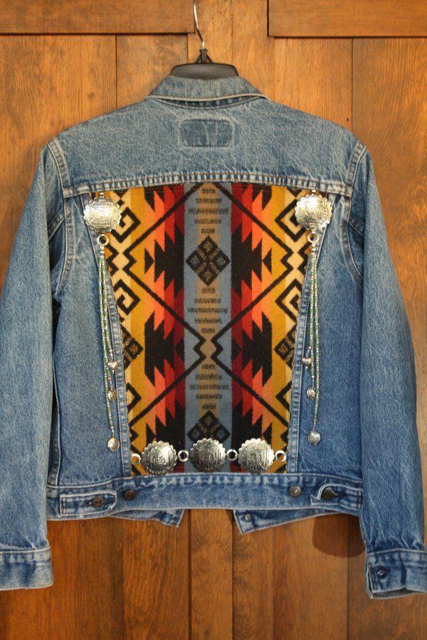 Image of Vintage Upcycled Levi Jacket