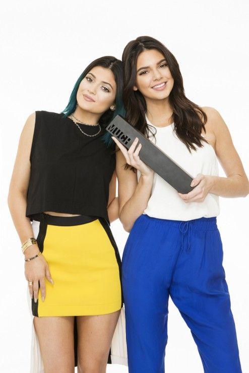 Kylie Jenner in RYAN HOUSSARI F/W 14-15 at Much Music Video Awards 2014 #kyliejenner #kendalljenner #mmva #awards #2014 #kardashians #ryanhoussari #yellow #skirt #neoprene #fall2014 #womenswear #collection #fashion #style #celebrity #stylist