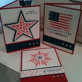 4th of july picture cards