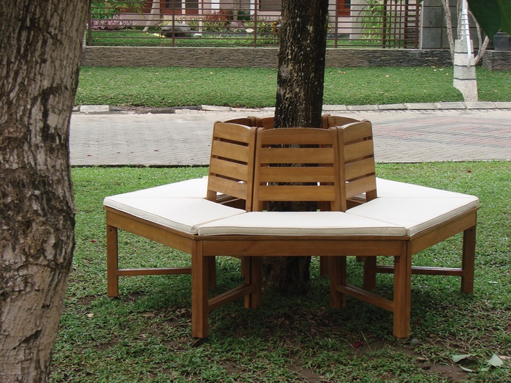 Hardwood Tree Seat, make the most of your trees
