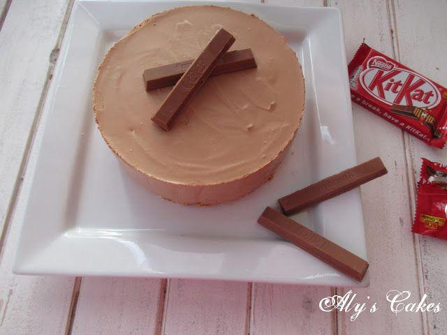Aly's Cakes: TARTA MOUSSE DE NUTELLA Y KIT-KAT http://alyscakes.blogspot.com.es/2016/09/tarta-mousse-de-nutella-y-kit-kat.html