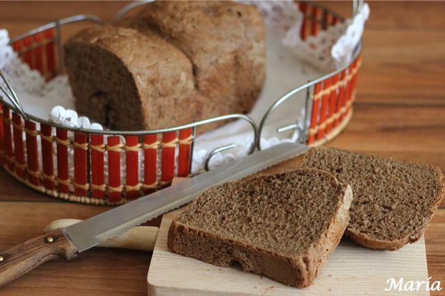 Pan de chocolate en panificadora | Comer con poco
