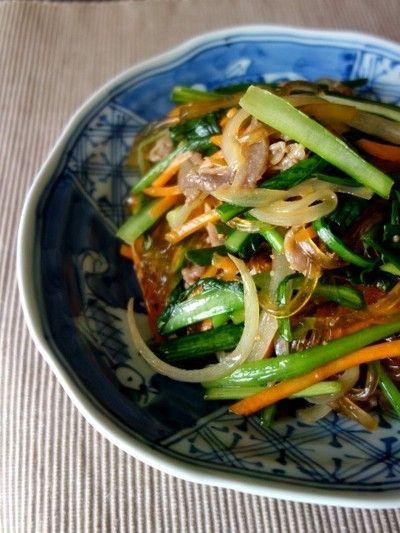 葛きりチャプチェ by Y'sさん | レシピブログ - 料理ブログのレシピ満載!
